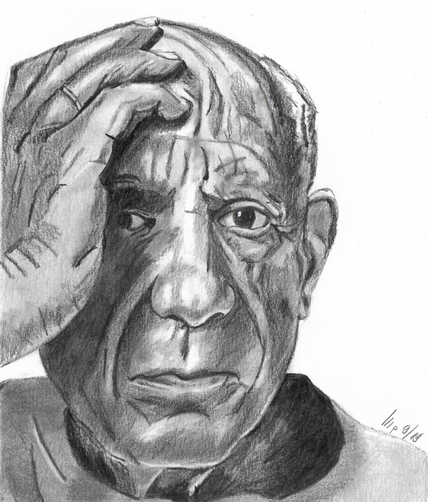 Pablo Picasso by patrick